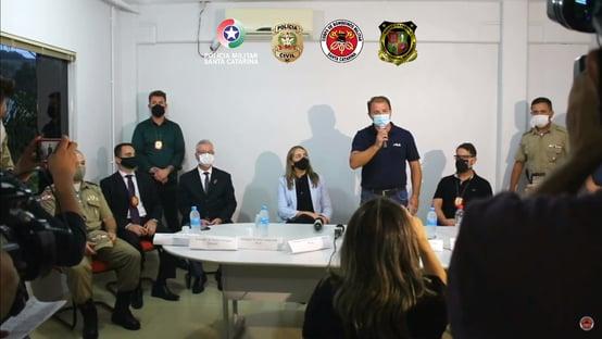 """""""O dia mais triste da história do nosso município"""", diz prefeito de Saudades"""