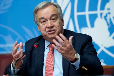 Itamaraty apoia recondução de Guterres como secretário-geral da ONU
