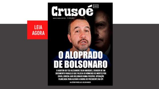 Crusoé: o aloprado de Jair Bolsonaro