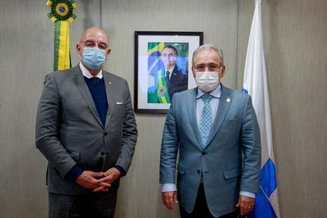 Queiroga se reuniu com Osmar Terra na véspera de seu depoimento à CPI da Covid