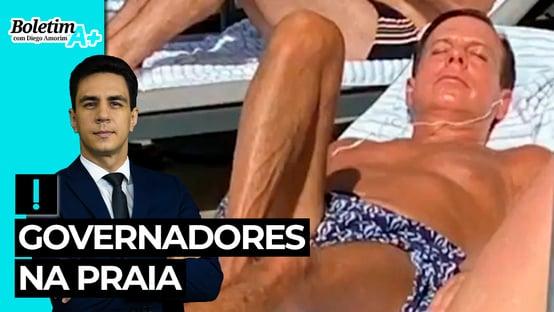 Boletim A+: governadores na praia
