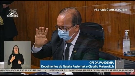 Jorginho Mello exibe vídeo em que Bolsonaro defende cloroquina