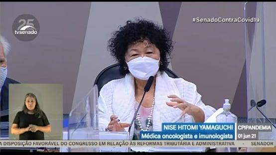 Nise Yamaguchi agora diz que imunidade de rebanho deve ser obtida com vacinação