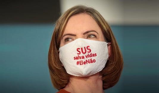 Gleisi celebra presença de tucanos em ato contra Bolsonaro
