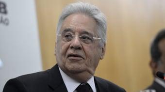 IMAGEM: FHC diz que não discrimina PT e defende frente ampla contra Bolsonaro