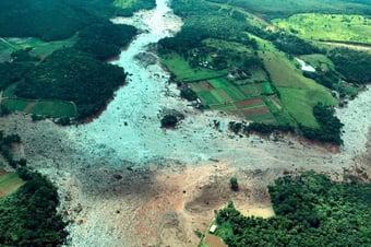 IMAGEM: Vale eleva nível de emergência de barragem em Minas