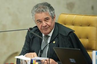 IMAGEM: 8 x 2 – Marco Aurélio vota a favor da proibição de cultos e missas na pandemia