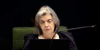 IMAGEM: Cármen Lúcia nega pedido de publicitário de Bolsonaro para ser excluído de inquérito