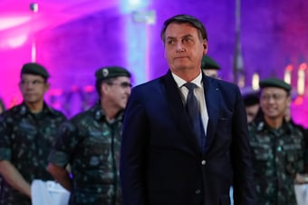 IMAGEM: Emparedado, Bolsonaro quer mostrar quem manda