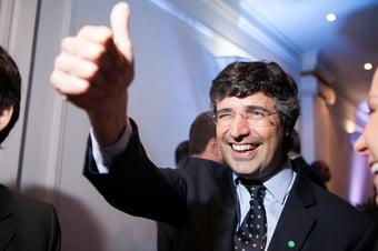 """IMAGEM: Em ato falho, Guedes anuncia """"André Esteves"""" como secretário"""