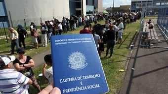 IMAGEM: Brasil deve ter 14ª maior taxa de desemprego do mundo, segundo ranking