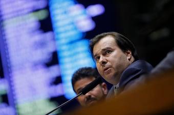 IMAGEM: Maia diz que Congresso discutirá novo teto de doações eleitorais para pessoas físicas