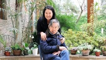 IMAGEM: Internação de Fujimori esquenta o debate político no Peru