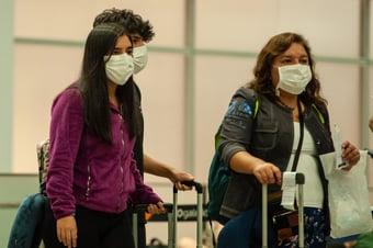 IMAGEM: Covid-19: Saúde pede isolamento de dez dias para quem chegar do Reino Unido com sintomas