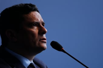 """IMAGEM: """"O galardão do combate à corrupção continua com Moro"""""""