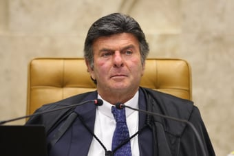 """IMAGEM: Fux: """"Brasil foi a sociedade escravocrata mais longa"""""""