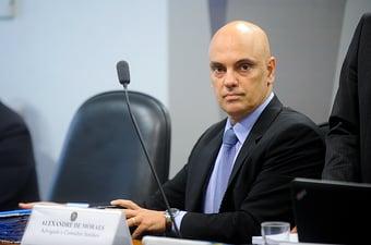 IMAGEM: Alexandre de Moraes: 'Divulgação de dados quer expandir narrativa fraudulenta contra eleições'
