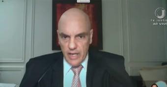 """IMAGEM: Moraes diz que há """"vácuo de liderança do Executivo"""" em enfrentar pandemia"""