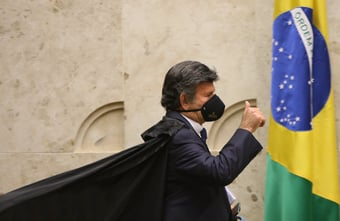 IMAGEM: Intenção do governo Bolsonaro com novo decreto sobre Abin 'não é tão legítima', diz Fux