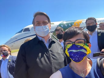 IMAGEM: Bolsonaro descumpre promessa e elege 'afilhado' do ministro do Turismo em cidade de MG