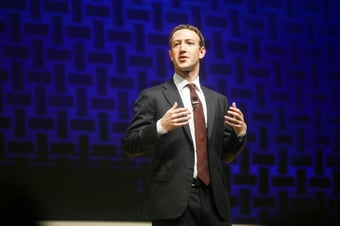 IMAGEM: Após pane em Facebook, Zuckerberg participa de evento sobre criptomoedas