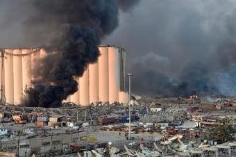 IMAGEM: A possível conexão entre a explosão em Beirute e a guerra da Síria