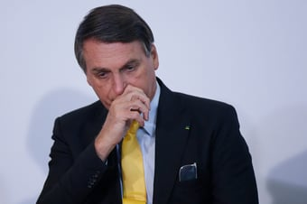IMAGEM: Bolsonaro, piada internacional