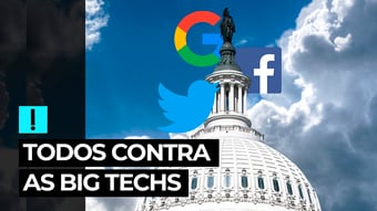 IMAGEM: Vídeo: todos contra as Big Techs