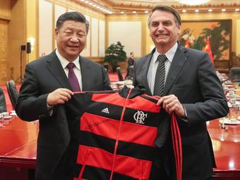 IMAGEM: Bolsonaro se reúne nesta quinta com líder da China comunista