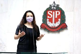 IMAGEM: Janaina sugere a senadores perguntarem a Kassio sobre André do Rap