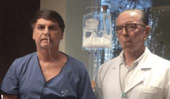 IMAGEM: Médico de Bolsonaro diz que cirurgia 'abriria espaço para novas obstruções'