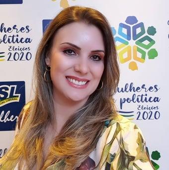 IMAGEM: Crise no PSL: candidata rebate marido e defende Luciano Bivar