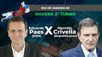 IMAGEM: RIO DE JANEIRO: 2º TURNO ENTRE PAES E CRIVELLA