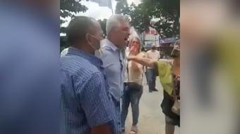 IMAGEM: Xingado por apoiadores de Bolsonaro, Olimpio reage e bate-boca quase vira briga