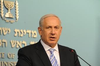 """IMAGEM: Netanyahu: """"Voltaremos em breve"""""""