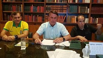 IMAGEM: Bolsonaro sobre Kassio: 'se tiver que votar para absolver o Lula, que vote'