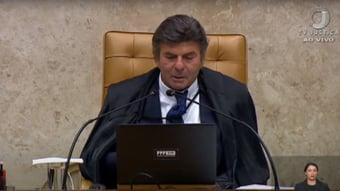"""IMAGEM: """"Judiciário terminou 2020 com 75,4 milhões de processos em tramitação"""", diz Fux"""