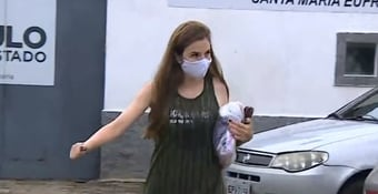 IMAGEM: Suzane von Richthofen deixa cadeia para 'saidinha' de Natal