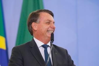 IMAGEM: Bolsonaro critica Maia e diz que apoia 'outra chapa' na Câmara