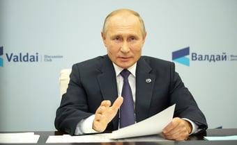 IMAGEM: Biden e Putin conversam por telefone em meio a tensões na Ucrânia