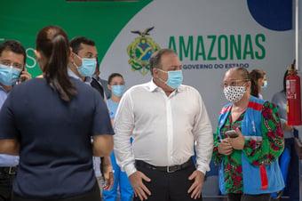 IMAGEM: Pazuello muda versão oficial sobre alerta de falta de oxigênio em Manaus
