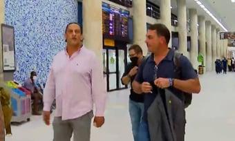 IMAGEM: Flávio e Wassef se reencontram a 3 dias do julgamento do foro da rachadinha