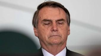 IMAGEM: Bolsonaro chama de 'bloqueio' do Facebook configuração do próprio perfil