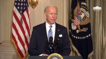 IMAGEM: Joe Biden anuncia pacote de US$ 2,3 trilhões em infraestrutura