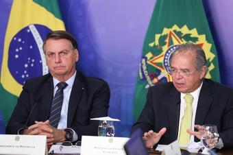 IMAGEM: Bolsonaro a empresárias: Paulo Guedes 'não apita em política'