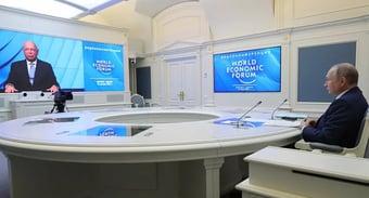 IMAGEM: Em Davos, Putin alerta para dominância das Big Techs dos EUA