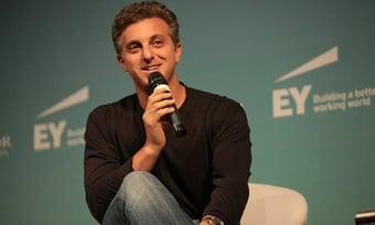 IMAGEM: Huck confirma que substituirá Faustão a partir de 2022