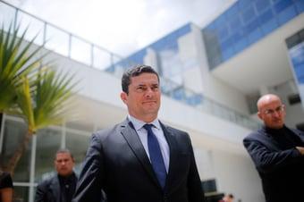 """IMAGEM: Em depoimento na Spoofing, Moro diz que invasão de celulares """"serviu para frear o combate à corrupção"""""""