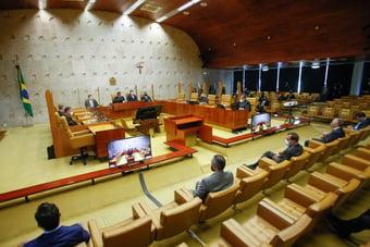 IMAGEM: Ministros do STF discutem reação a ataques de Bolsonaro