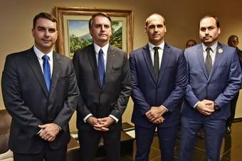 IMAGEM: CPI pode indiciar Eduardo e Carlos Bolsonaro